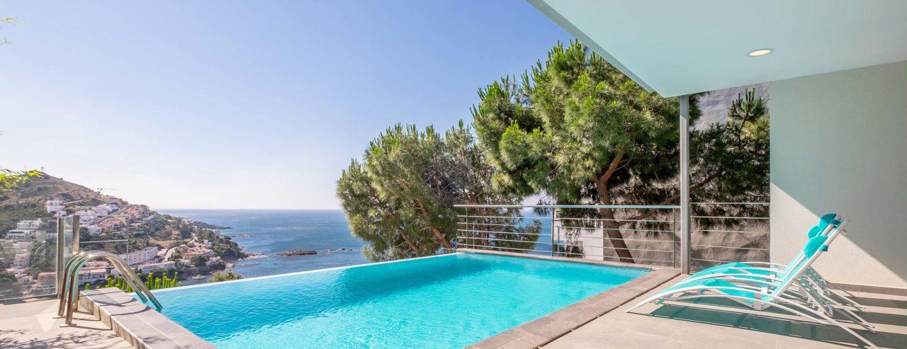 Villa Sur roses avec vue sur Mer